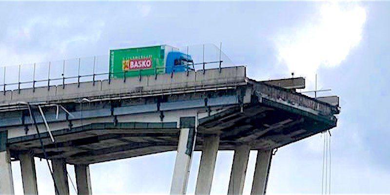 Il Volvo della Basko simbolo del Morandi