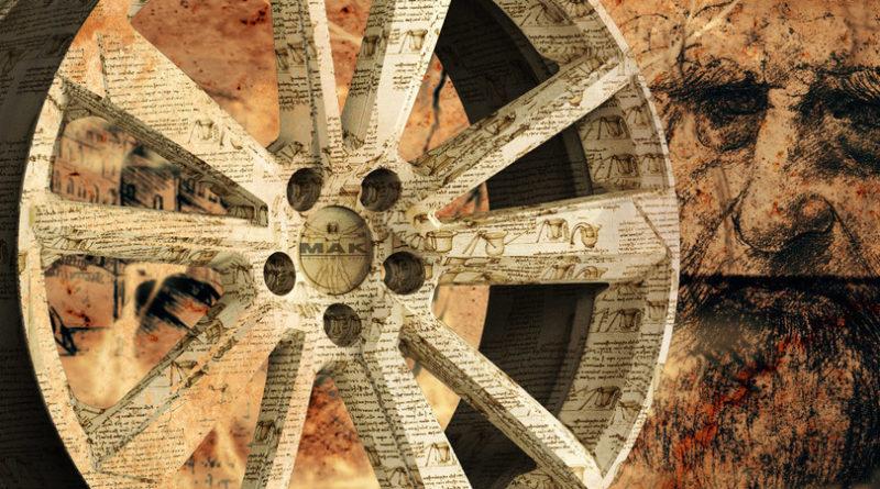 Mak dedica un cerchio a Leonardo Da Vinci