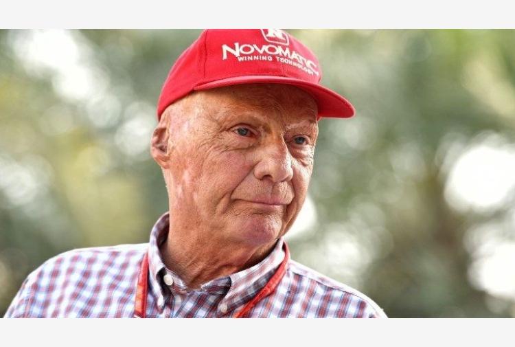 Il campione Niki Lauda