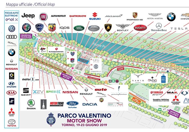 Mappa Valentino 2019