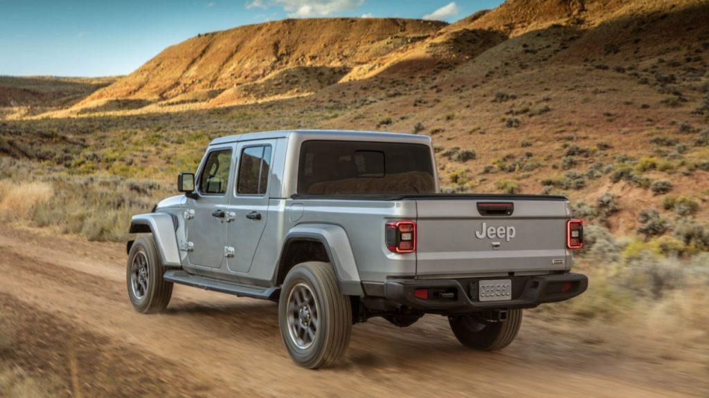 Retro jeep pickup