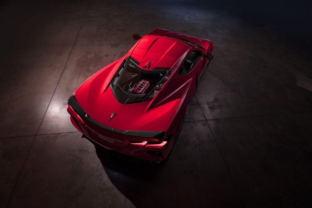 Corvette motore centrale