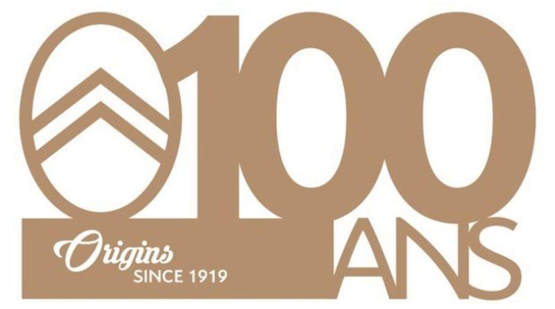 Logo 100anni citroen