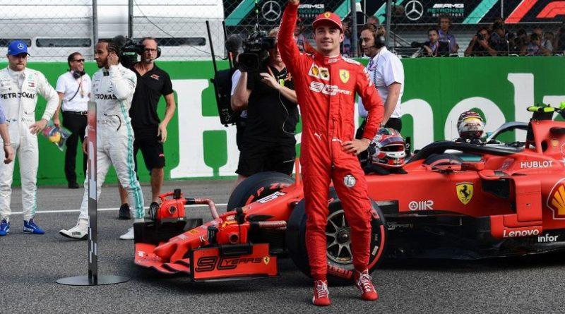 Leclerc a Monza