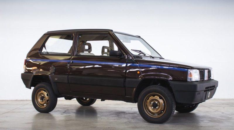 La Fiat Panda 4×4 si fa elettrica grazie a Lapo