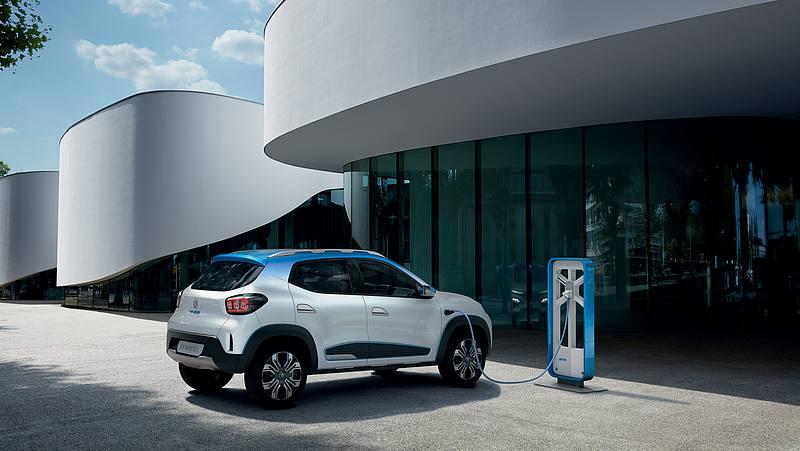 Renault K-Z.E. alla colonnina