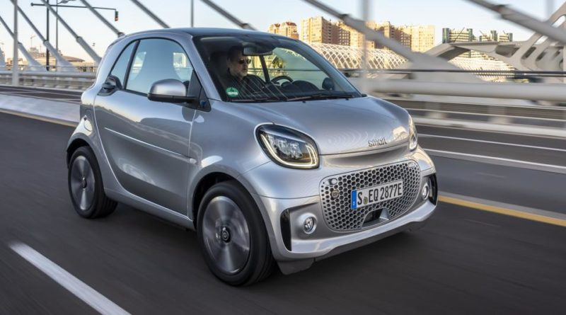 La Smart EQ 100% elettrica è pronta a stupire