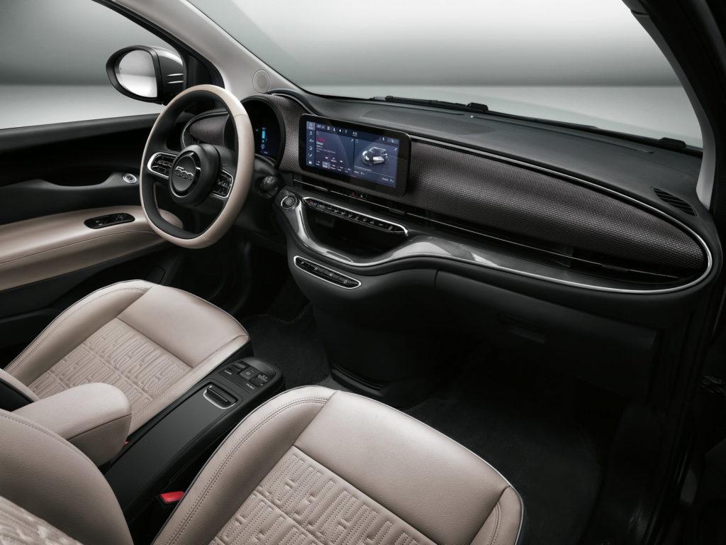 Nuova Fiat 500 Elettrica Interni