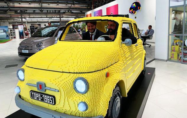 Fiat 500 Lego a Torino