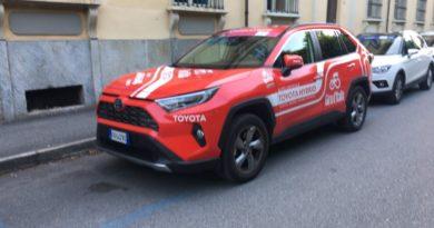 Rav4 Hybrid giro d'italia