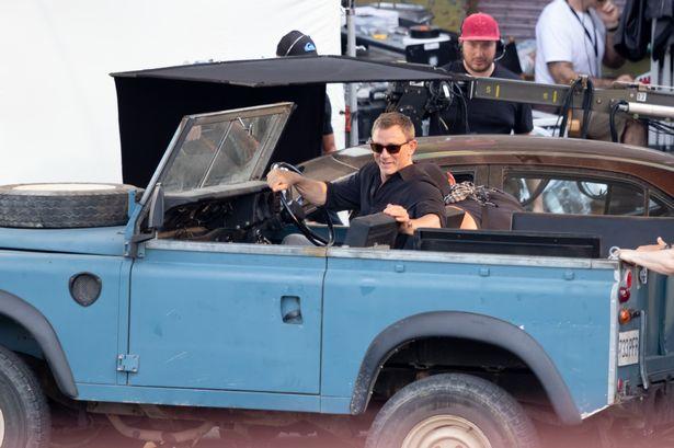 Scene del nuovo 007