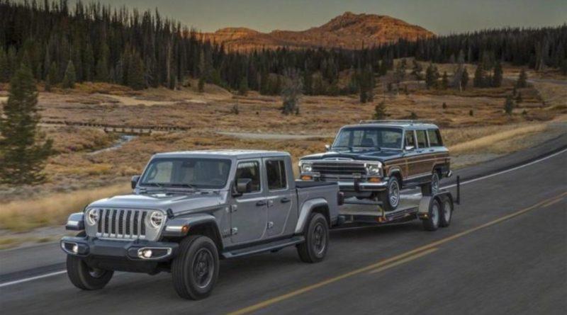 Pickup jeep