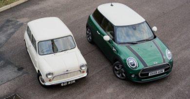 Mini Cooper 60 anni