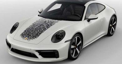Porsche impronta digitale