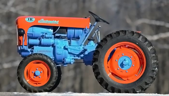 Lamborghini 1R laterale
