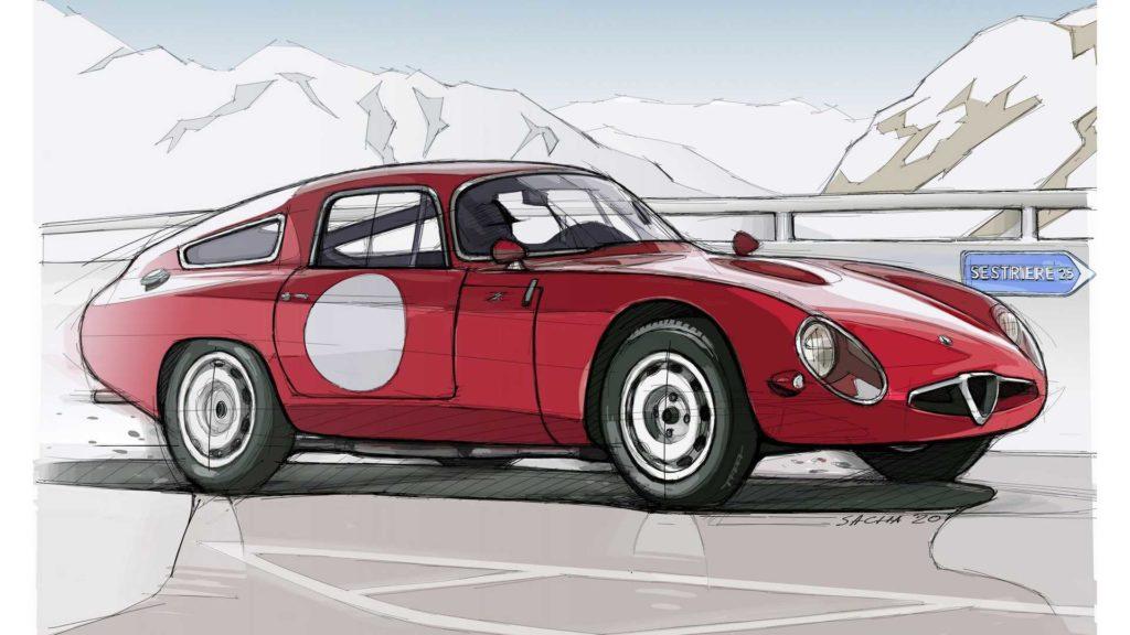 Alfa Romeo Bozzetto