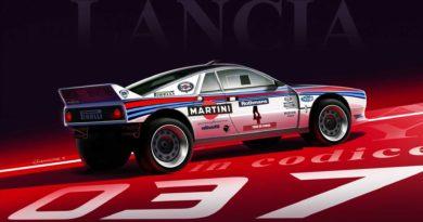 Lancia 037 bozzetto