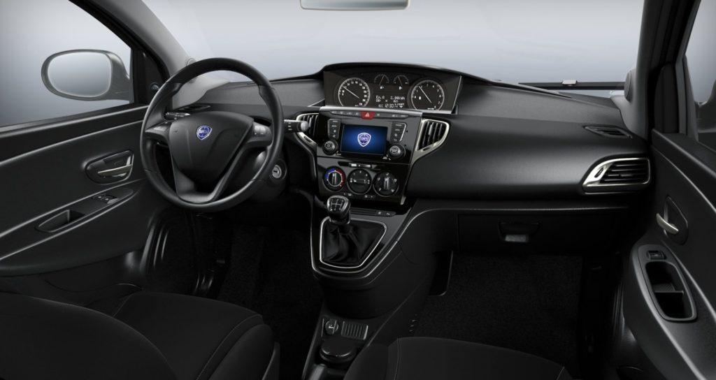 Lancia Ypslion Hybrid Interni