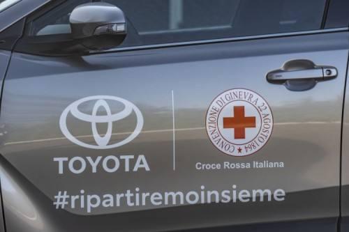 Toyota Croce Rossa Loghi