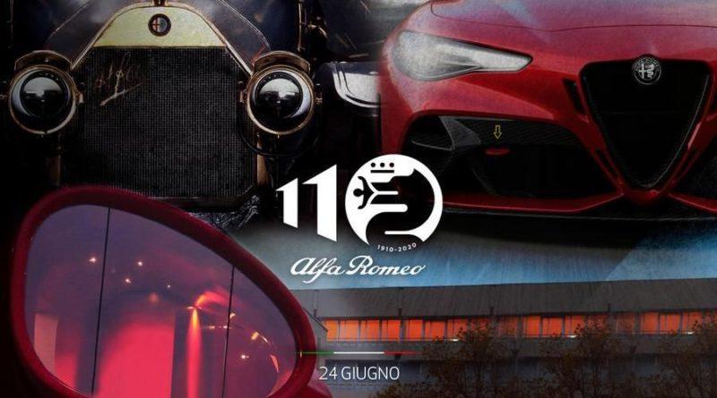 110 anni Alfa Romeo 24 giugno