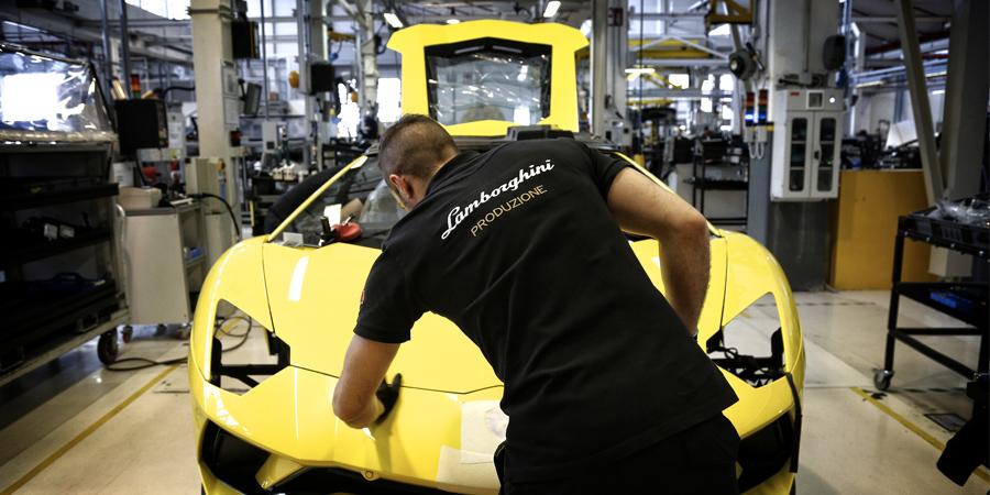 Lavoro Lamborghini