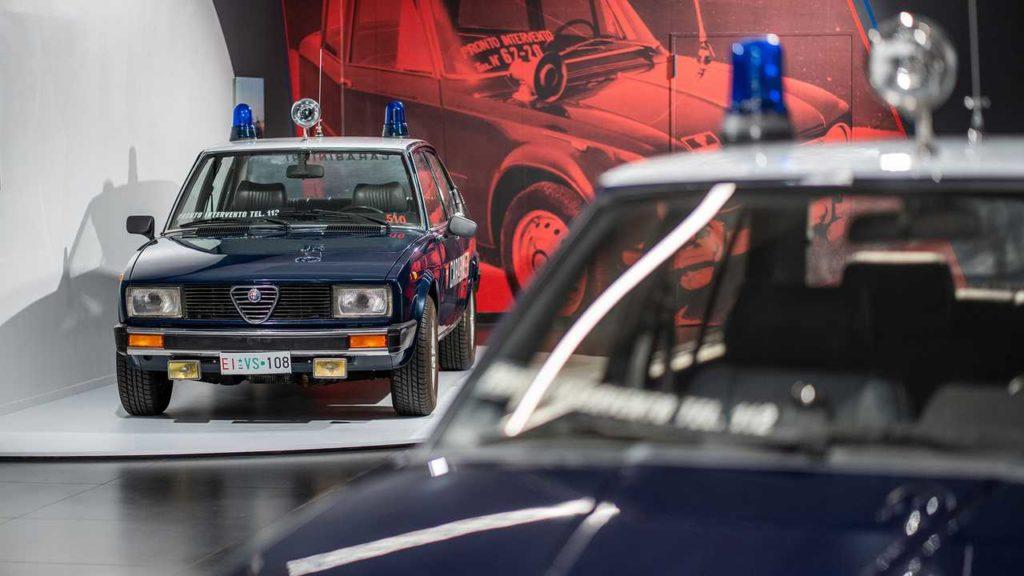 Giulietta Carabinieri Alfa Romeo Arese