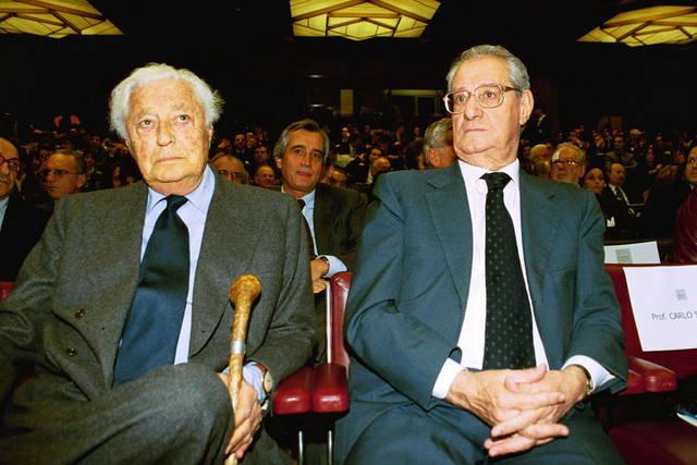 Romiti Cesare Gianni Agnelli
