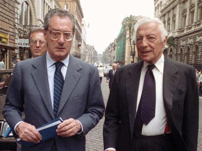 Romiti Cesare e Gianni Agnelli