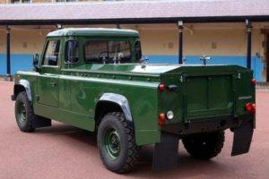 Land Rover Defender voluta dal Principe Filippo